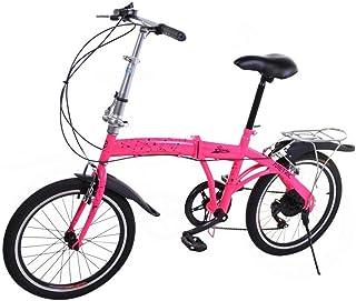 Riscko Metric Bicicleta Plegable Unisex con Ruedas de 20