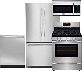 Frigidaire 4-Piece Smudge-Proof Stainless Steel Package, FGHN2866PF 36