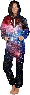 Women Men Long Sleeve Playsuit Adult Onesie Jumpsuit Pajamas