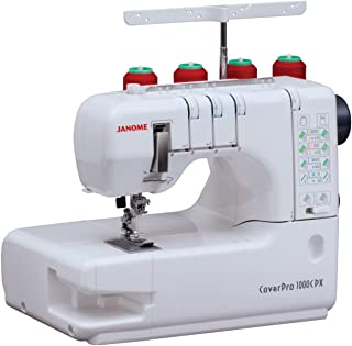 Janome Cover Pro 1000CPX Cover Stitch Machine and Kit