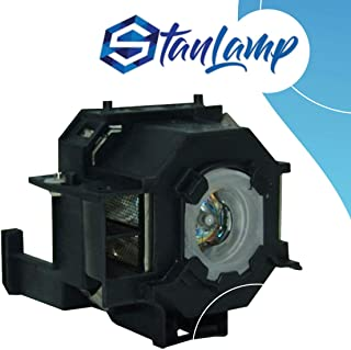 StanLamp Projector Replacement Lamp with Housing for Epson ELPLP41 V13H010L41 Powerlite Home Cinema 700 77C 78 S5 S6 W6 EMP-260 77C S5 S52 X5 X52 X6 EX21 EX30 EX50 EX70 H283A H284A