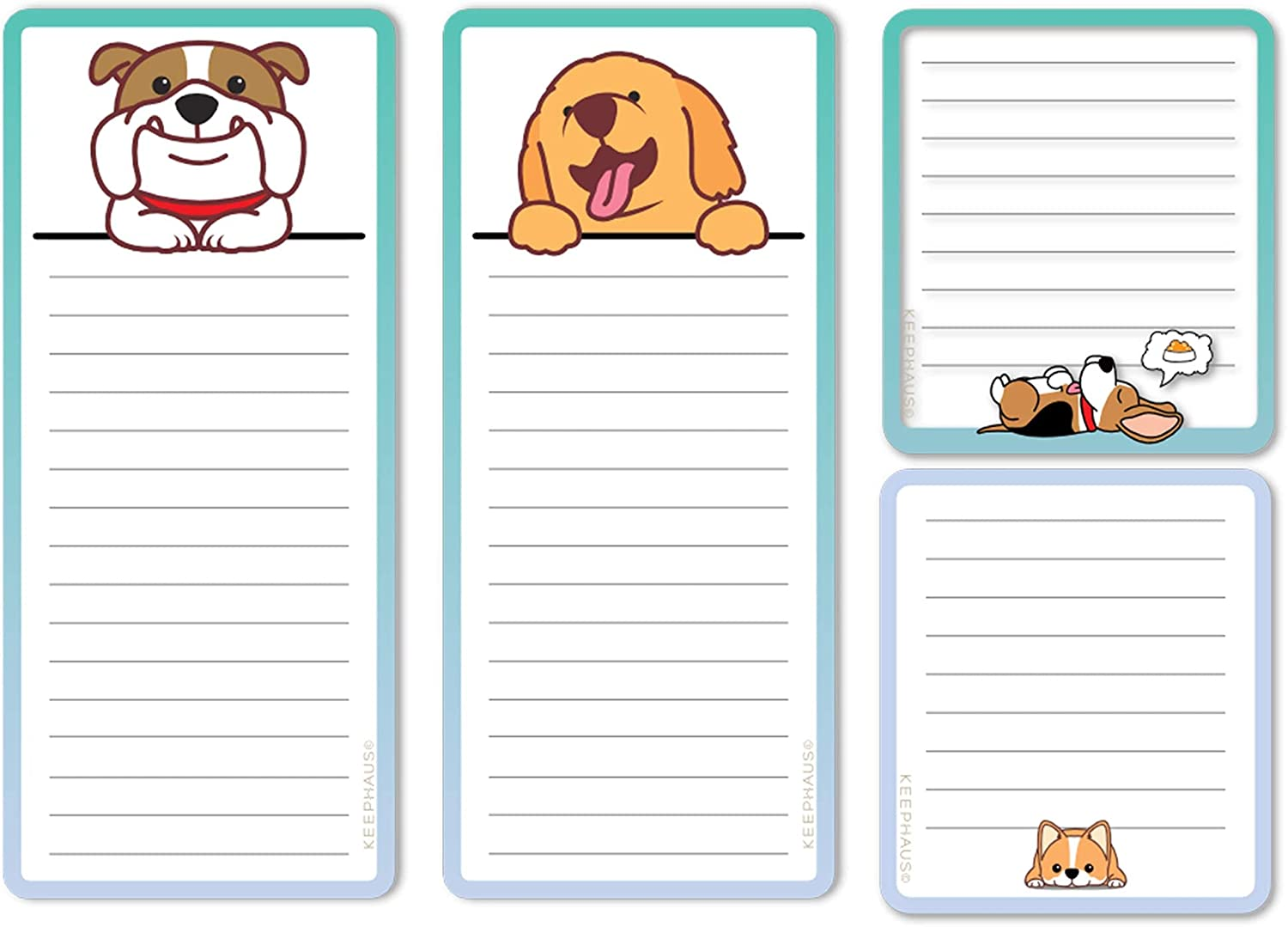 Dogs Magnetic Notepads in High quality Large and Sizes Ranking TOP17 Pa 4 Small for Fridge