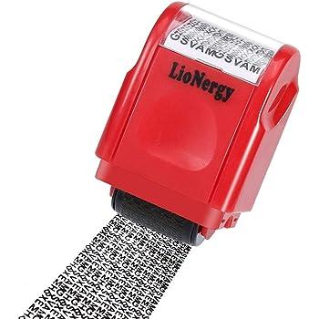 Identity Theft Schutz Stempel Siegel Code Roller Selbst Schutz Ihre Sicherheit