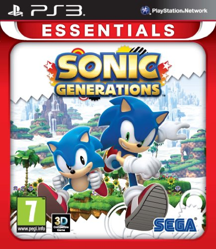 Sonic Generations PS-3 Essentials UK Multi