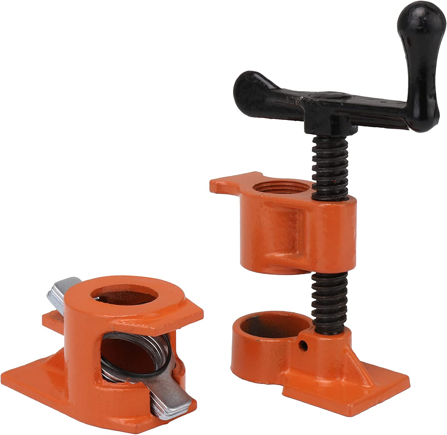 BQLZR Orange Max 44% OFF Iron Woodworking Cast Clamps Wood 3 Max 83% OFF Gluing Pipe 4