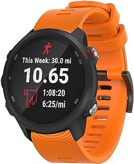Songsier Forerunner 245 Armband, 20 mm universele reservearmband, horlogeband, sportarmband voor Vivoactive 3/Forerunner 6...