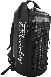 LivinEaze Premium Waterproof Dry Bag Backpack Duffel - 40L - Sports Bag Motorcycle Bag Skateboarding Rock Climbing Camping Hiking Kayaking Rafting Boating Hunting Fishing Surfing Electronics