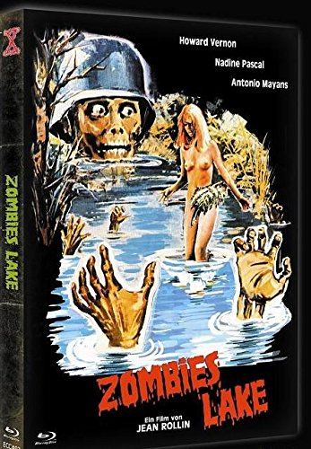 Zombie Lake - Limited uncut Mediabook - Blu Ray+DVD - Cover B