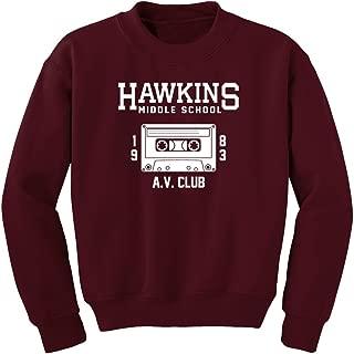Fantastic Tees Hawkins Middle School AV Club Sweatshirt