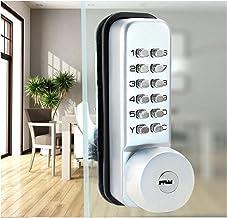 Deurslot Schuifpoortopener Digitale Lock Deur Keyless Keypad Code Wachtwoord Iron Deur Waterdichte Deurslot Drukknop Stabi...