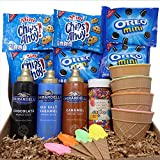 🍦THE ULTIMATE ICE CREAM PARTY TOPPING SET🍦Each Ice Cream Surprise Variety Pack Bundle includes a total of 18 pieces so that you can make over to 40 Ice Cream Sundaes! Every set includes 4 matching sets of ice cream bowls and spoons. Scoop your ice cr...