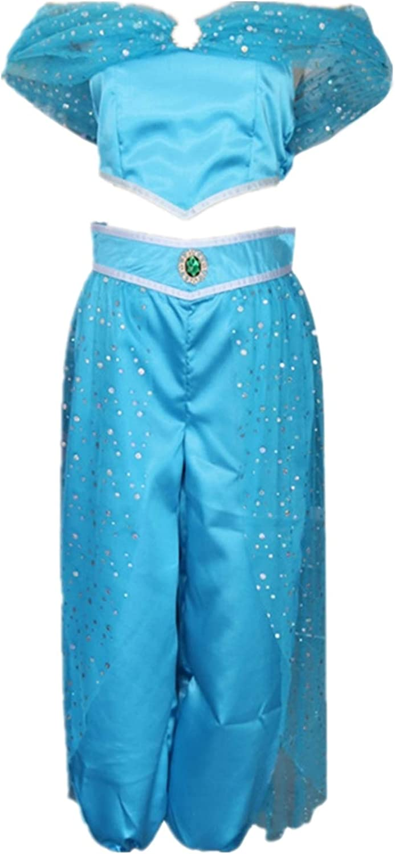 Arab Max 75% OFF Princess Cosplay Costume Party Dress Raleigh Mall Skirt Hallowee Dancing