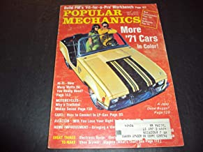 Popular Mechanics Oct 1970 Dune Buggy, Why A Trailbike?
