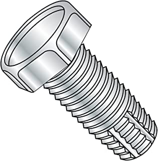 Steel Thread Cutting Screw Zinc Plated Finish 5//16 Length Hex Washer Head #10-32 Thread Size Type 23 Small Parts 11053SW Pack of 8000 Slotted Drive Pack of 8000 5//16 Length