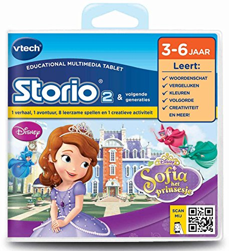 VTech Storio 2 Game Sofia het Prinsesje - Accesorios para Juguetes de Aprendizaje (Game Cartridge, Multicolor, Dutch Language, Chica, Caja
