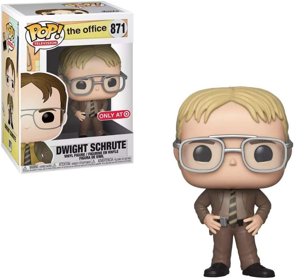 Funko Fashion Pop Television: Ranking TOP3 The Office - Dwight H with Schrute Blonde