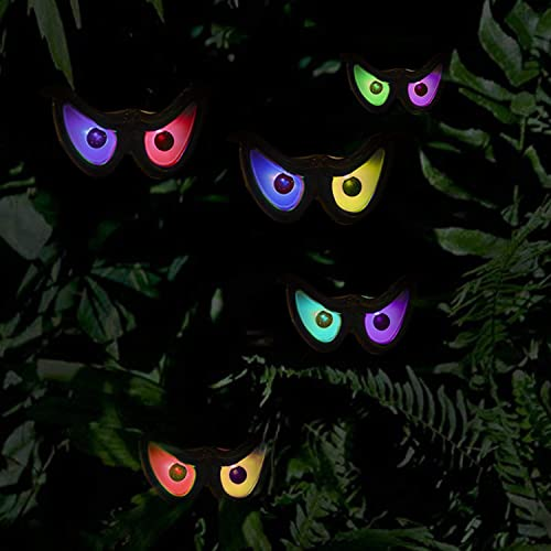 wholesale Twinkle lowest Star Halloween Decorations Flashing Eyes String Lights, RGB Color Changing Spooky Light Up Eyeball Waterproof Battery Operated Decoration String Lights for outlet online sale Halloween Indoor/Outdoor Decor online sale