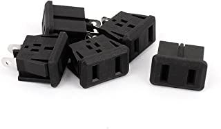 uxcell AC 10A/250V 15A/125V US Plug Panel Mount US Outlet Power Socket