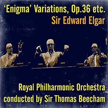 Sir Edward Elgar: 'Enigma' Variations, Op.36 etc.