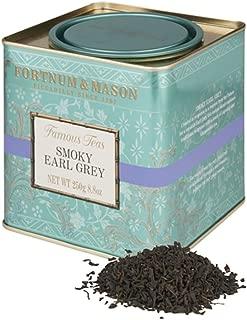 Fortnum & Mason British Tea, Smoky Earl Grey, 250g Loose English Tea in a Gift Tin Caddy (1 Pack) - Seller Model Id Lsesfl098b - USA Stock