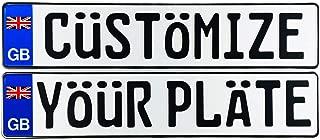 Best british license plate Reviews