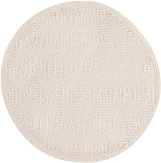 prasku 10pcs Doublures Respirantes Réutilisables Rondes Filtre en Tissu de Vapeur en Bambou Pur Coton - 20cm