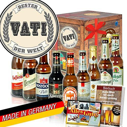 Bester Vati der Welt ++ DDR Bier Geschenk ++ Geschenke für Vater