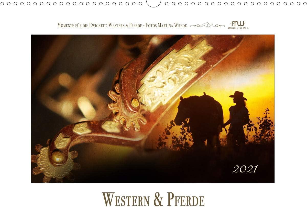 Western und PferdeCH-Version Wandkalender DIN Ranking TOP1 2021 Max 50% OFF quer A3