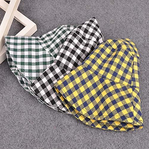 ZHAONAA Outdoor-Freizeitmütze Kunst-Liebhaber Wilde Lässig Plaidhut Becken Größe: M (56-58cm) Mode Wilden Hut (Color : A, Size : M) - 3