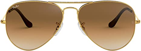 Ray-Ban Shooter Rb3138 C62 - Gafas de sol unisex para adulto, naranja, tamaño mediano