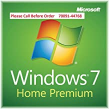 Microsoft Windows 7 Home Premium SP1 32 bit - System Builder OEM DVD