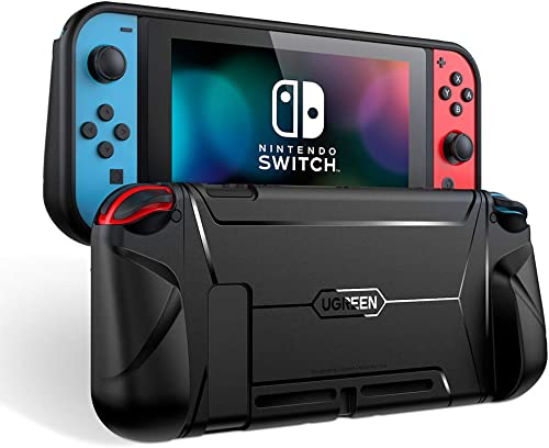 UGREEN Protective Case for Nintendo Switch, Grip Case TPU Cover Protector Accessories with Shock-Absorption Design (B...