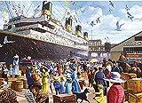 2021 1000 piezas de rompecabezas de madera, rompecabezas de Titanic, crucero – piezas de rompecabezas de forma única juego de entretenimiento para la decoración del hogar