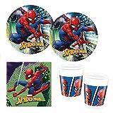 Procos 10118255Party Set Spiderman Team Up