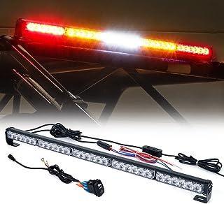 "Xprite RZ Series RYWYR 30"" Offroad Rear Chase LED Strobe Light bar w/Turn Signal Brake Reverse for UTV, ATV, Polaris RZR XP 1000 900, Side by Sides, 4x4, Trophy Truck, Dune Buggy, Trophy Truck"