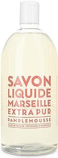 Compagnie de Provence Savon de Marseille Extra Pure Liquid Soap - Pink Grapefruit - 33.8 fl oz Plastic Bottle Refill
