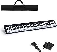 Costzon 88-Key Portable Digital Piano, Touch Sensitive Knock