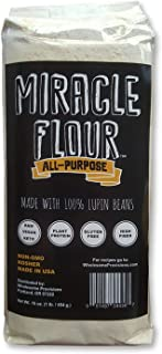 100% Sweet Lupin Flour, Non-GMO, Made in USA, All Purpose, Gluten Free, Vegan, Plant Protein, Low Carb Flour, Keto-Friendl...