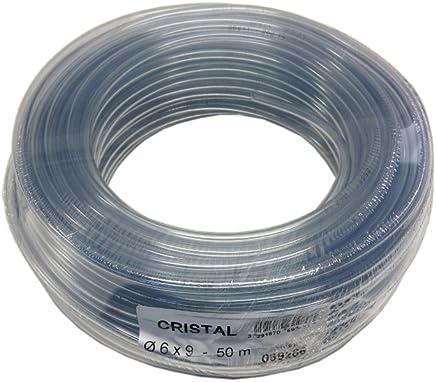 50 m PVC-Schlauch mit Gewebeeinlage  lebensmittelecht  verschiedene Durchmesser Auto & Motorrad: Teile