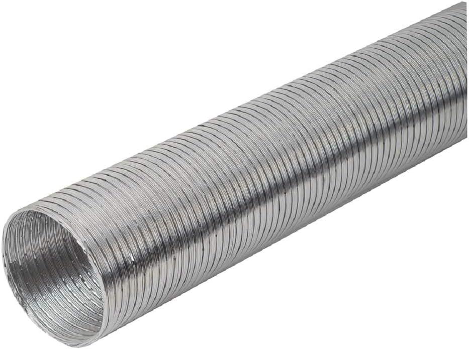 Tubo flexible de aluminio, diámetro de 150 mm, 3 m