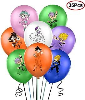 35Pcs Dragon Ball Z Theme balloons - Large 12
