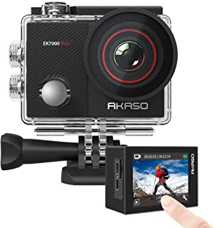 AKASO EK7000 Pro 4K Action Camera with Touch Screen EIS Adjustable View Angle 40m Waterproof Camera Remote Control Sports ...