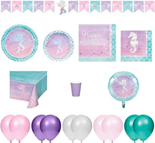 shimmer mermaid party supplies