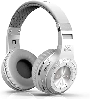 Bluedio Wireless Bluetooth 4.1 Stereo Headphones with Mic (HT Turbine White)