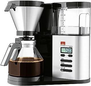 Melitta Aroma Elegance Deluxe 1012-03: elegant kaffebryggare utvecklad för att ge optimal smak, svart/rostfritt stål