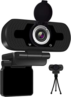 Anivia 1080P Full HD Webcam with Webcam Cover, Cámara para computadora portátil para conferencias y videollamadas, cámara ...