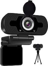 Anivia 1080p HD Webcam W8, USB Desktop Laptop Camera, Mini Plug and Play Video Calling Computer Camera, Built-in Mic, Flex...