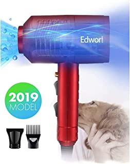 WendyMom Dog Cat Hair Dryer,Professinal Double Force Gooming Blower Dryer for Medium/Small Pets,IEC Certificated