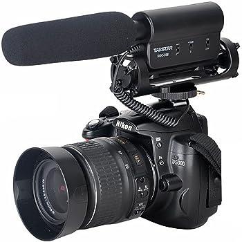 Micrófono de entrevista SGC-598, de TAKSTAR, para cámara Nikon ...