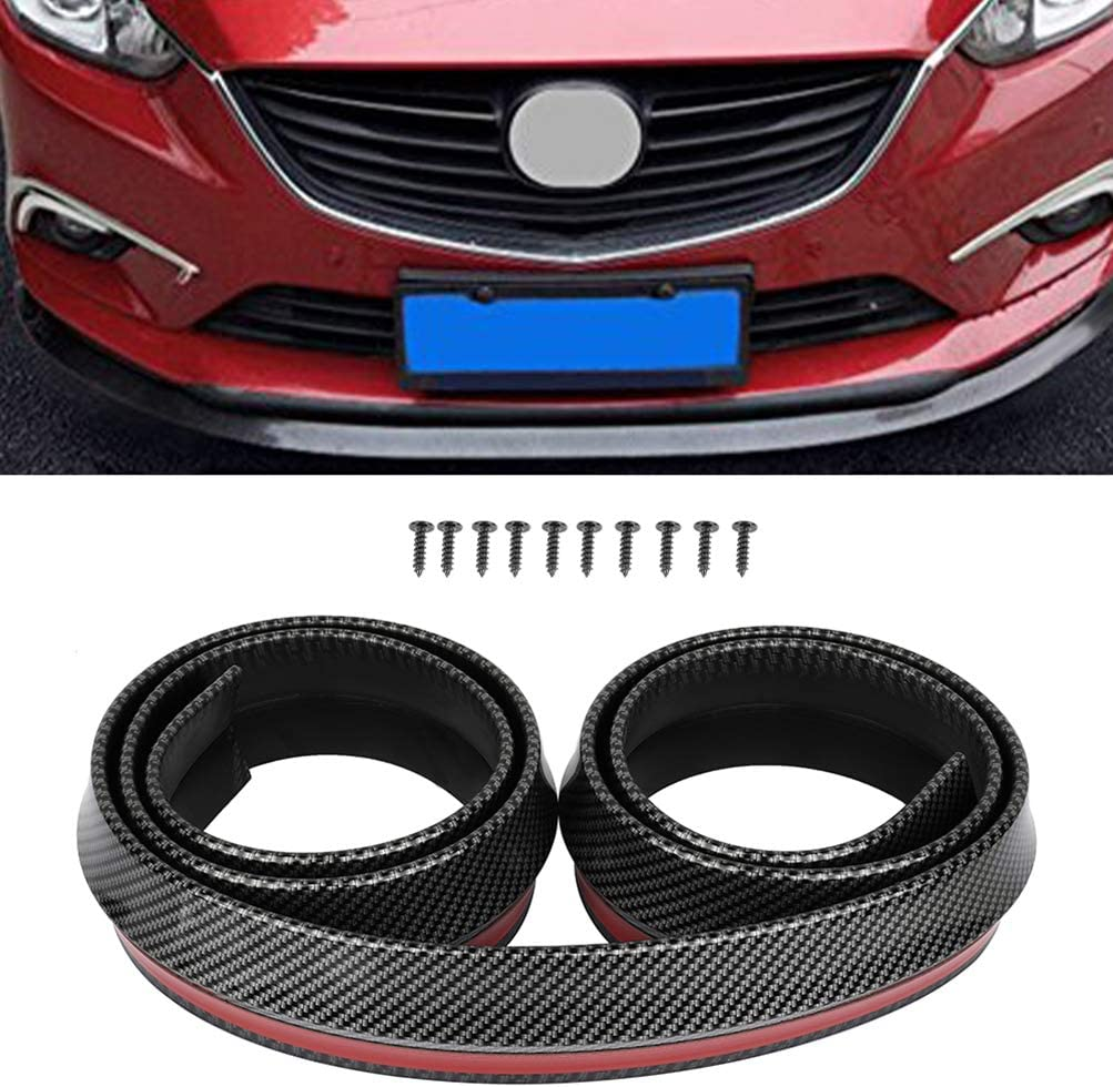 ZENITHIKE Front Bumper Exterior Sticker Accessories PP F Super beauty product restock quality top plastic New Shipping Free Shipping